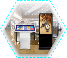 Advertising display all in one tablet solution